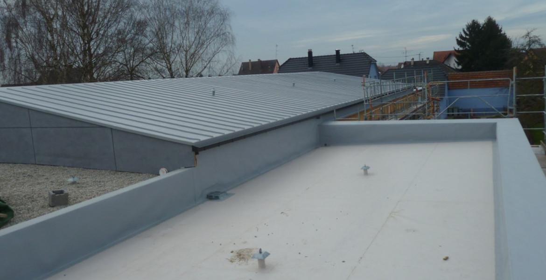 Adam toitures tanch it toit terrasse plat v g talis eschau for Etancheite toit plat